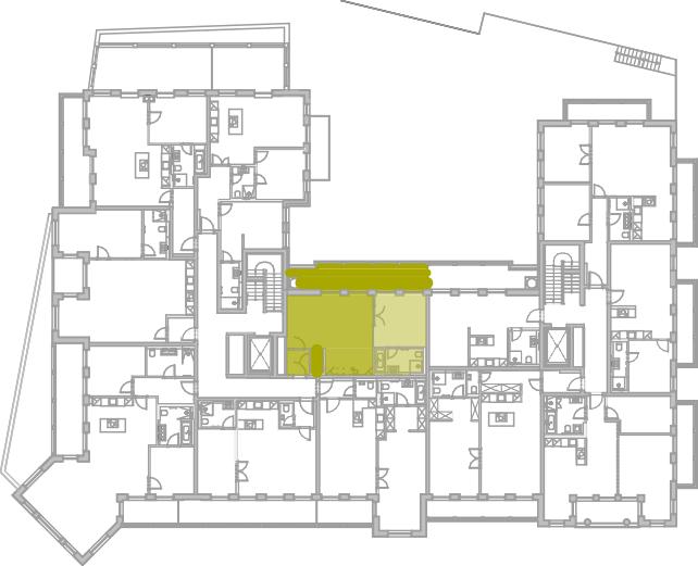 Lageplan Appartement 15