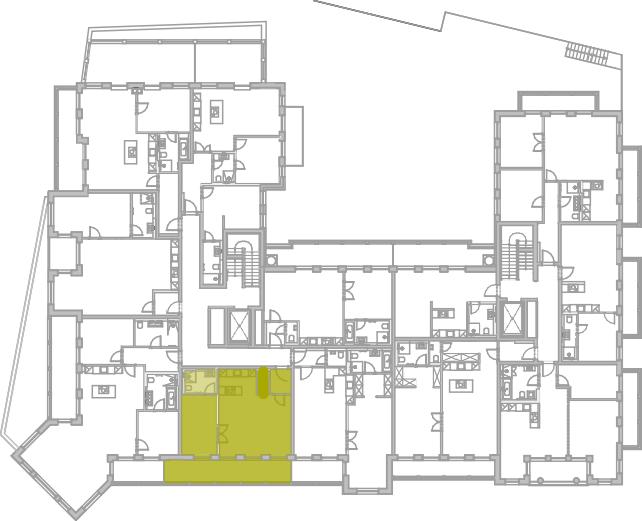 Lageplan Appartement 16