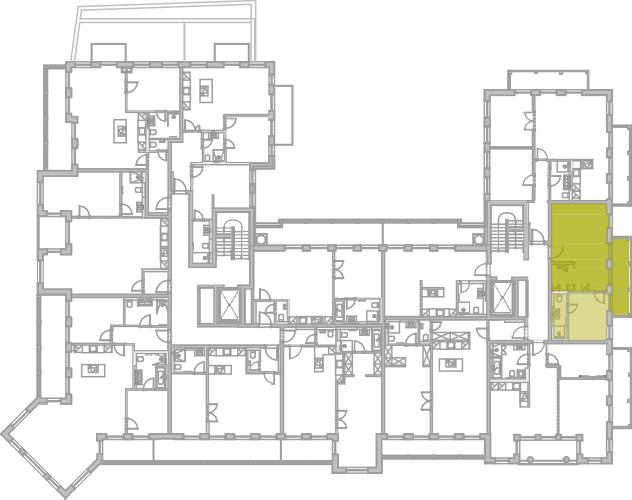 Lageplan Appartement 33