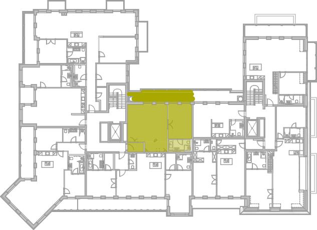 Lageplan Appartement 38
