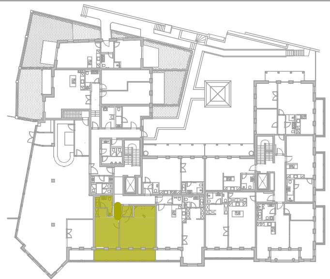 Lageplan Appartement 4
