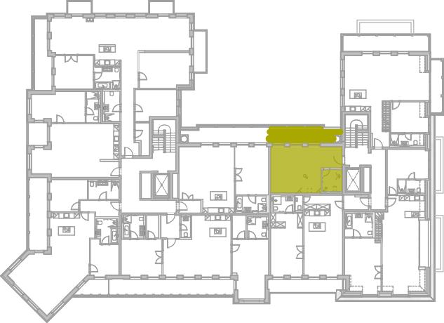 Lageplan Appartement 41