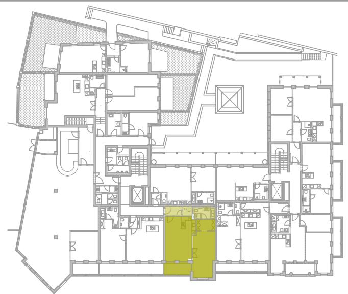 Lageplan Appartement 5