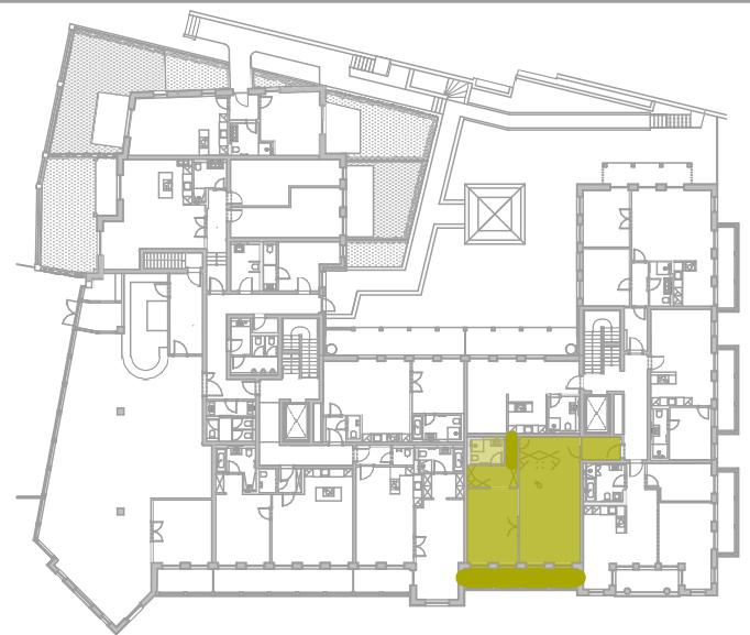 Lageplan Appartement 6
