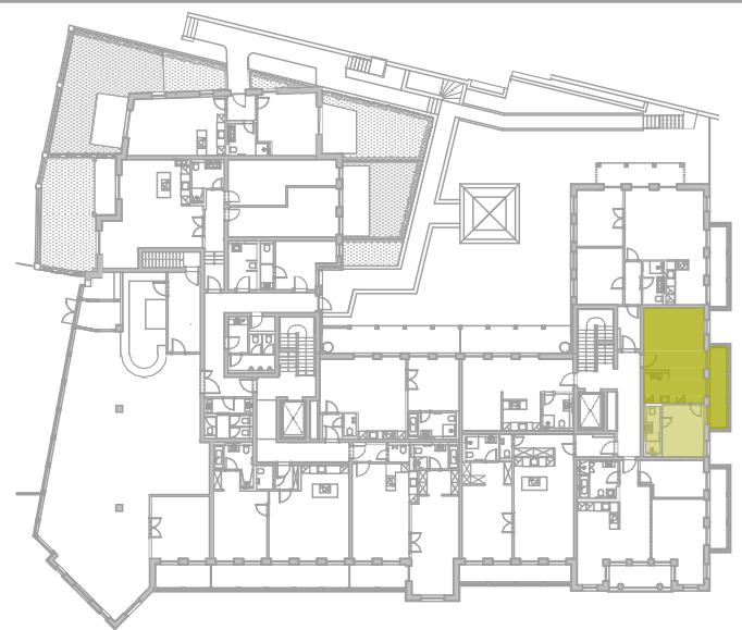 Lageplan Appartement 9
