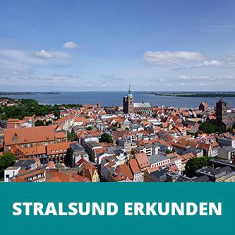 Kurzurlaub auf Rügen Stralsund erkunden